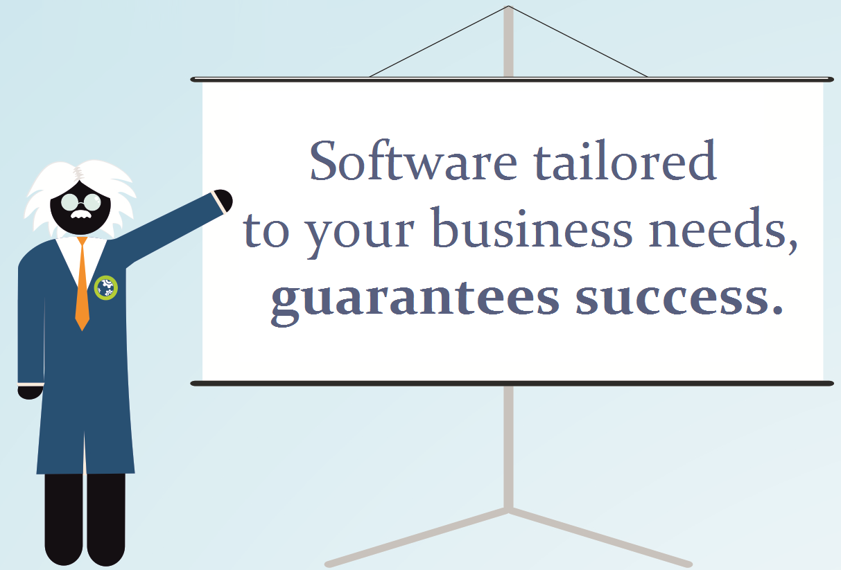 Software tailored to your business needs