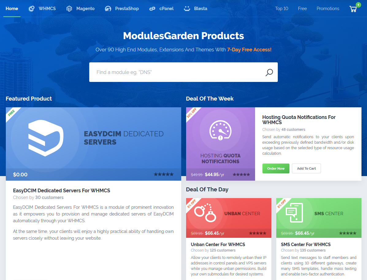 ModulesGarden Marketplace