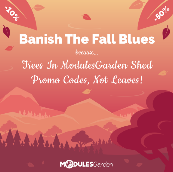 ModulesGarden - Fall Discounts