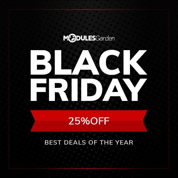Black Friday Discount 2017 - ModulesGarden