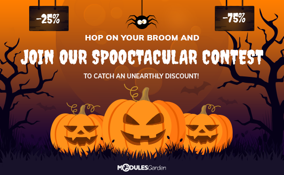 Halloween Contest at ModulesGarden