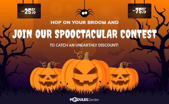 Halloween Contest at ModulesGarden