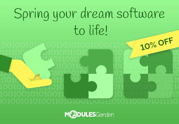 Spring Promotion on Custom Software Projects at ModulesGarden