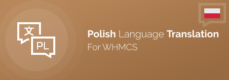 Complete Polish Language Version of WHMCS by ModulesGarden