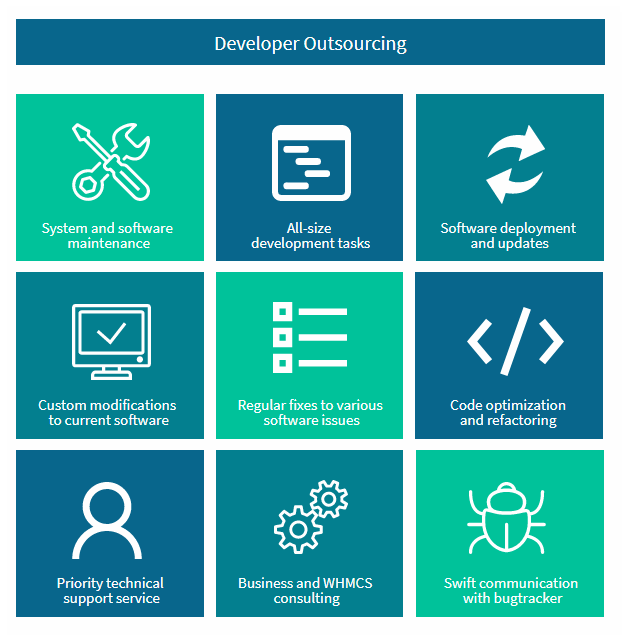 Developer Outsourcing Service - ModulesGarden