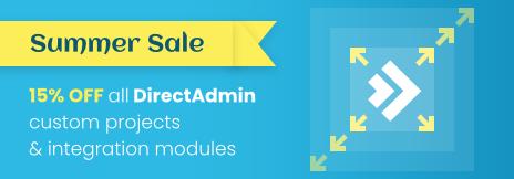 DirectAdmin Summer Promotion - ModulesGarden