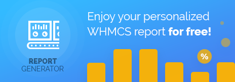 Report Generator For WHMCS Promotion - ModulesGarden