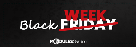 Black Week at ModulesGarden