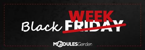 Black Week at ModulesGarden
