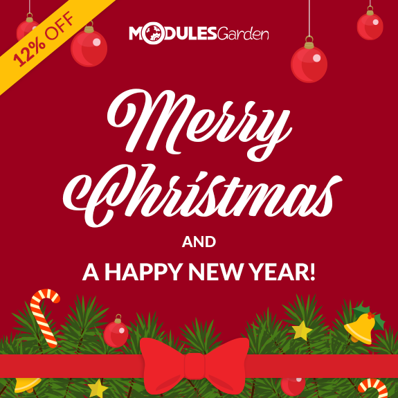 Christmas Deals 2019 at ModulesGarden