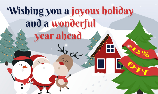 Wishing you a joyous holiday and a wonderful year ahead - ModulesGarden