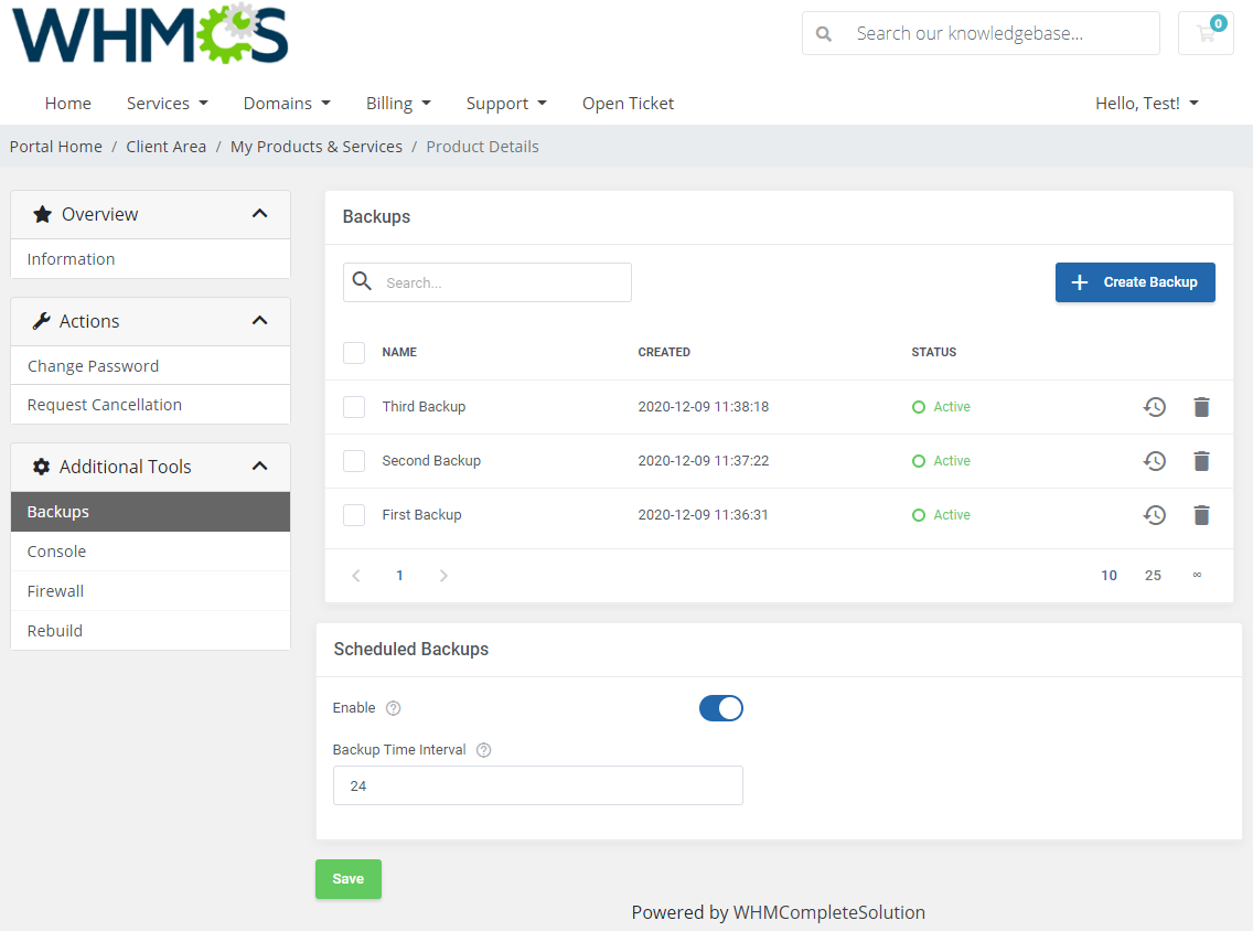 A smart new framework in OpenStack VPS & Cloud For WHMCS 2.0 - ModulesGarden